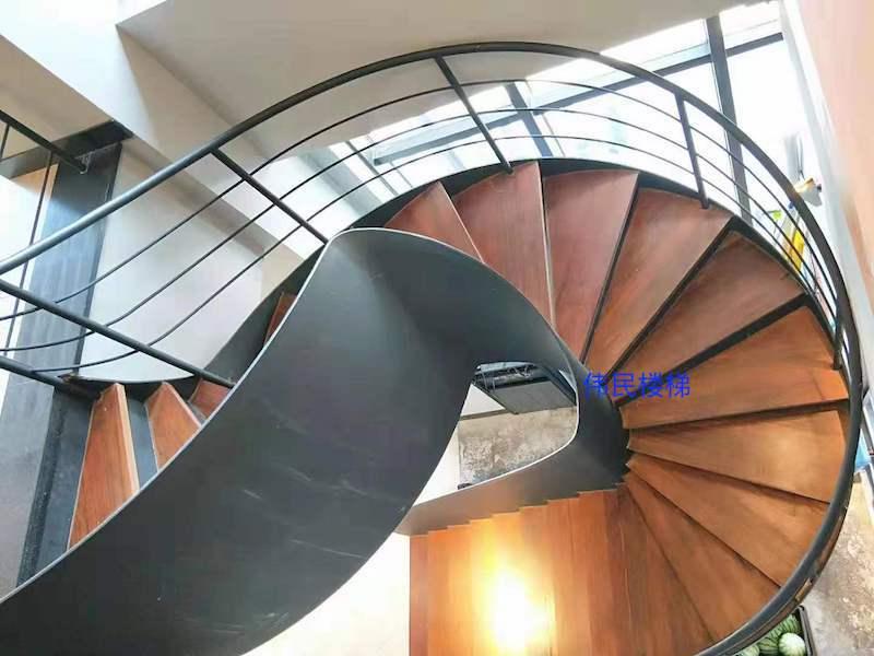旋转钢架楼梯厂家