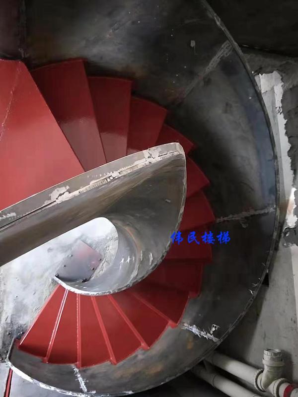 定制旋转钢架楼梯