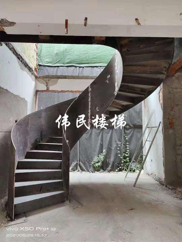 杭州旋转楼梯让月桂花园更漂亮